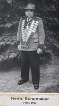 Hermann Schomaker - 1958/1959