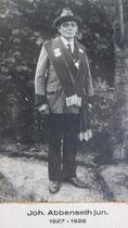 Johann Abbenseth jun. - 1927/1928