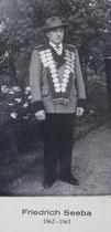 Friedrich Seeba - 1962/1963