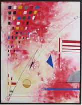 voie de l'art. tableau. abstrait. abstraction