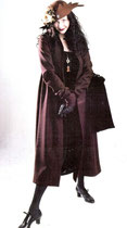 Woolen Eugenia Coat, Silk Velvet Circle Gown      $650 / $375