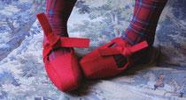 t h e  N i j i n s k y    Firebird Red Wool Felt    2 2 5 E