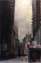 NY Pastell/Farbstift 60 x 90 cm