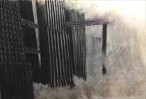 Pastell/Farbstift 90 x 60 cm