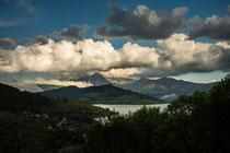 Gran Sasso, monte Corvo e lago di Campotosto