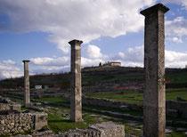 Alba Fucens, via dei Pilastri