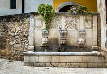 Sulmona, fontana Sant'Agata