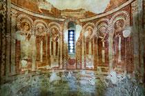 San Pietro ad Oratorium, affresco dei Signori dell'Apocalisse dell'abside