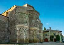 San Giovanni in Venere, le absidi.