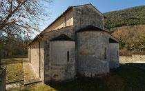 San Pietro ad Oratorium, absidi