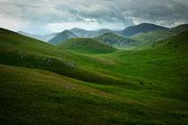 Gran Sasso, colline a Campo Imperatore
