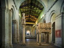 Abbazia di San Clemente a Casauria, navata centrale
