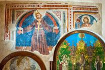 Sant'Onofrio al Morrone, affreschi trecenteschi