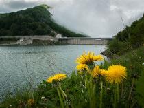 Lago di Campotosto, la diga