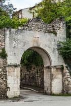 Sulmona, porta Romana