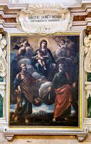 Santo Stefano, Madonna col Bambino fra i Santi Pietro e Andrea