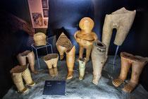 Schiavi d'Abruzzo. Museo Archeologico, statuette votive