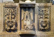 Abbazia di San Clemente a Casauria, particolare dell'ambone