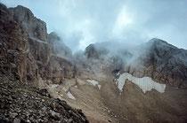 Gran Sasso, il ghiacciaio Calderone
