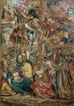 Ortona, Museo Diocesano. Ignoto, Deposizione dalla Croce, 1590 circa, olio su tela.