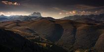 Gran Sasso, la catena dalla Rocca di Calascio