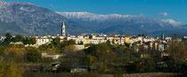 Sulmona, panorama ovest
