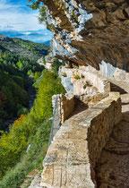 San Bartolomeo in Legio, il vallone di Santo Spirito. Roccamorice
