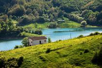 Lago di Campotosto, vista da Mascioni