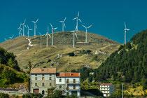 Schiavi d'Abruzzo, Parco eolico