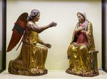 Santo Stefano, gruppo scultoreo dell'Annunciazione