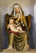 Santo Stefano, Madonna col Bambino (terracotta)