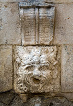 Sulmona, leone ammiccante, fontana Sant'Agata