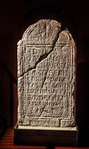Schiavi d'Abruzzo. Museo Archeologico, lapide