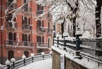 Pratola Peligna, nevicata