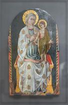 Ortona, Museo Diocesano. Ignoto abruzzese sec. XV, Madonna col Puer Dolorosus, 1440 circa, tempera su tavola