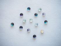 monotone         :glass,14kgf//////pierced earrings(small)