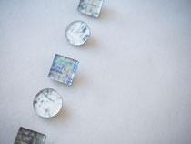 noise              :glass,14kgf//////pierced earrings