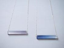ore                   :glass, silver//////necklace
