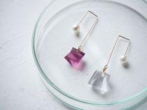 kakera               :glass,14kgf//////pierced earrings