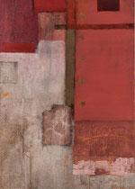 Ohne Titel, 2003, Mischtechnik auf Leinwand, 140 x 100 cm