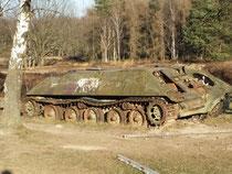 Schavener Heide / alter Panzer