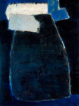 Nicolas de Staël, Great Blue Composition