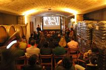 A la sala de Barriques es va projectar la pel.licula. La directora, Marie Renucci va presentar el film.