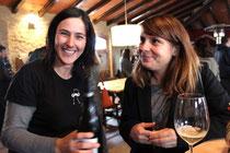 L' Arantxa de Cara amb la directora de la pel.licula Marie Renucci