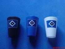 HSV-Becher in schwarz,weiss und blau(neu am 09.07.08)