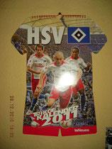 HSV-Trikotkalender 2011(neu am 24.12.2010)