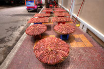 Drying Beef in Phnom Penh