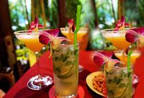 Bar in French Hotel in Phnom Penh