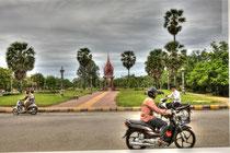 Traffic in Battambong