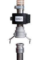 Magnetabscheider für Rohre und Sauglanzen